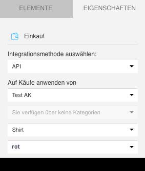 API Produktvariante.