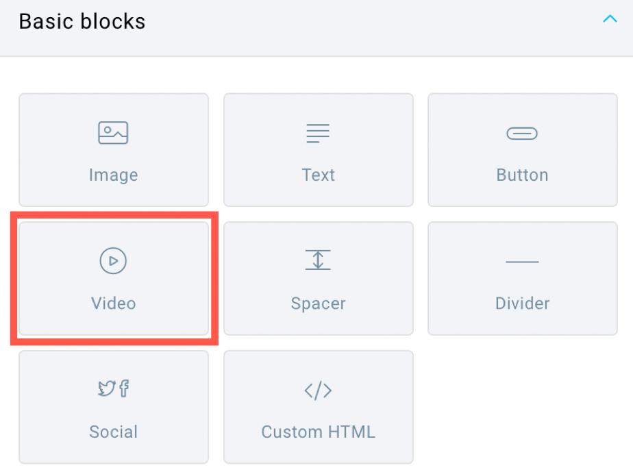 video block.