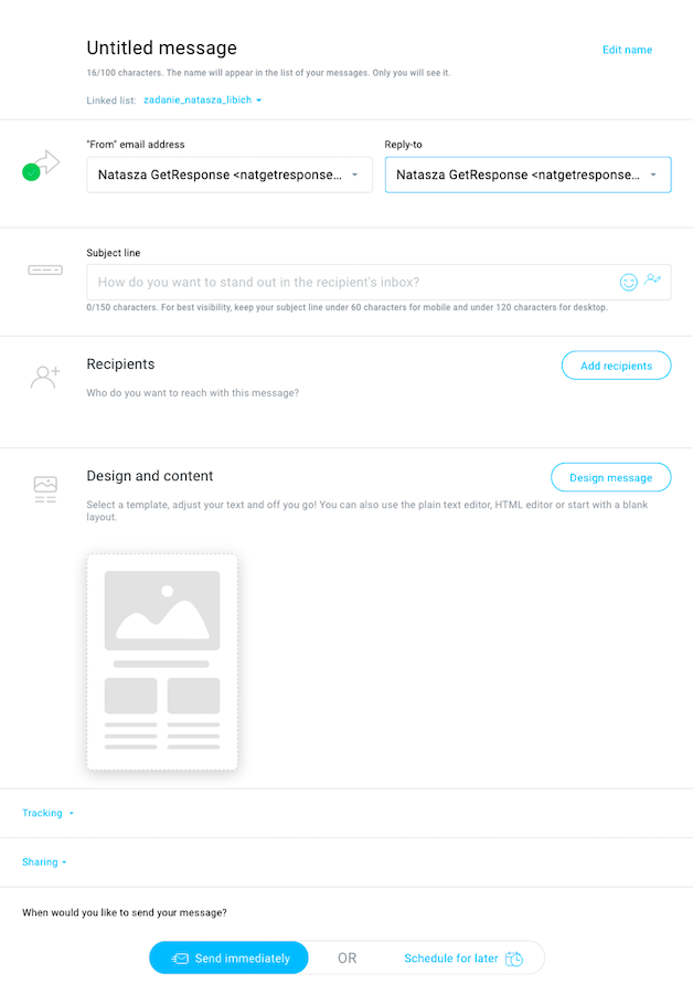 create page of the new editor.