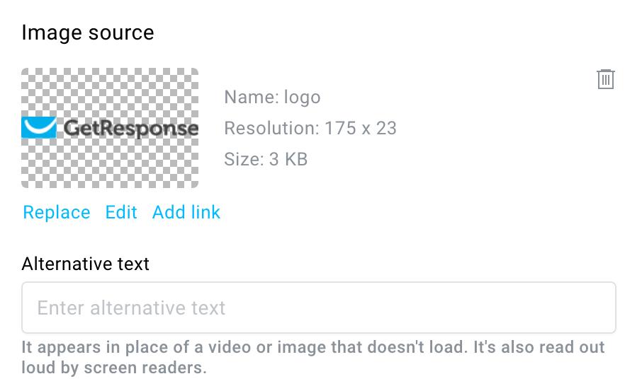 image properties.