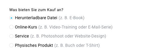 Produktauswahl Herunterladbare Datei.