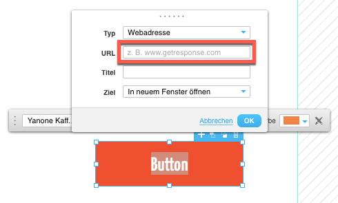 Button URL einfügen.