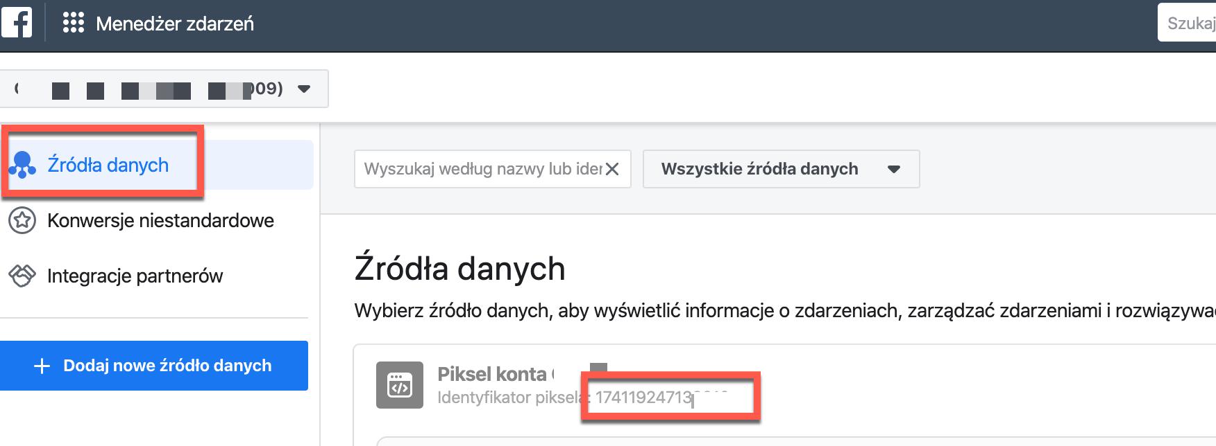 Źródła danych.