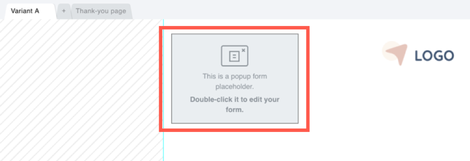 sign up page exit pop up.