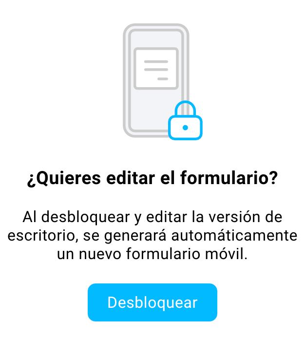 Desbloquear la versión de escritorio.