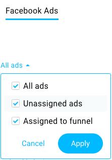 Facebook Ads filtering