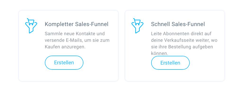 Sales-Funnel auswählen.