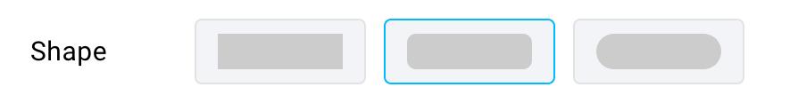 Button shape.