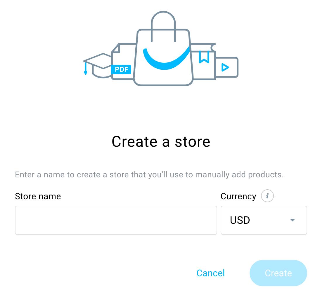 Create a store.