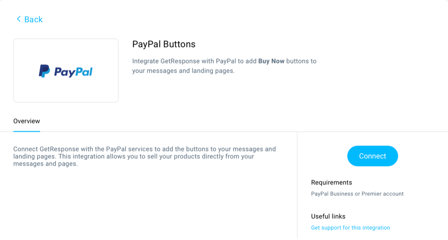 PayPal buttons integration shown.