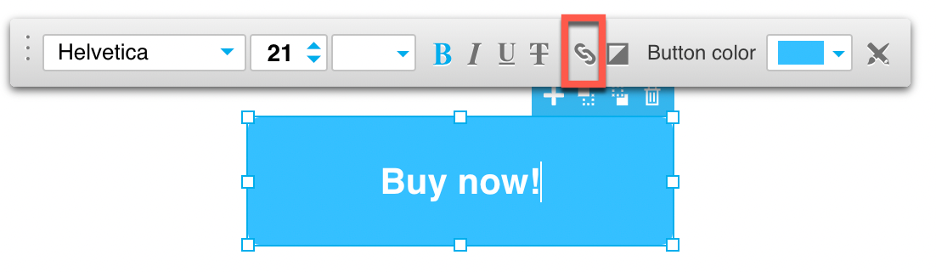 Double click on the button to open the toolbar and clikc on the chain icon shown.