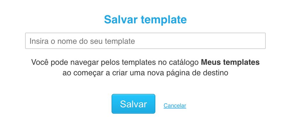 salvar template