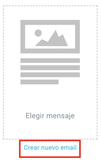 crear nuevo email