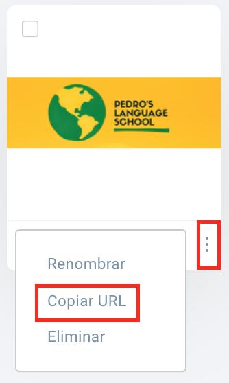 copiar URL