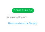 desconectarse de shopify
