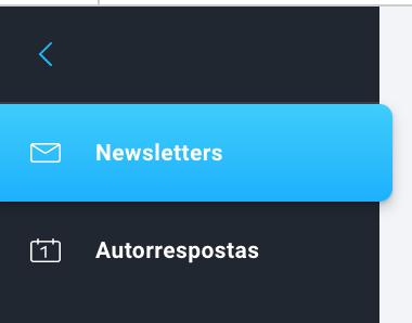 Escolher newsletter ou autorrespostas nos relatórios