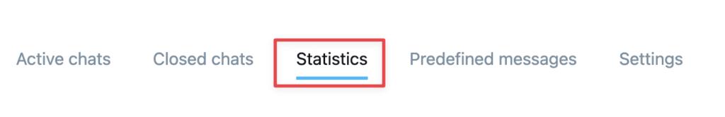 Statistics tab shown.