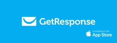 Aplikacja GetResponse na iPhone