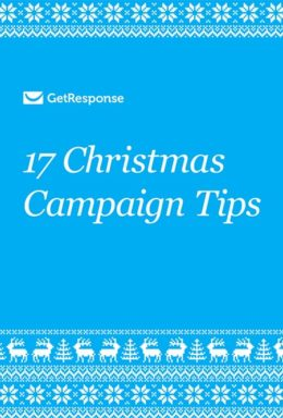 17 Christmas Campaign Tips from GetResponse.
