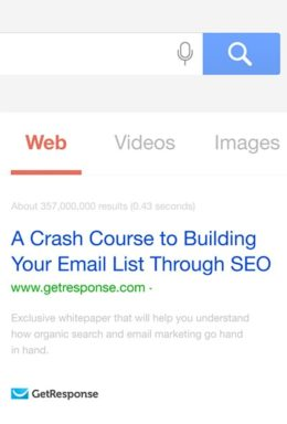 A Crash Course to Email List Building Through SEO
