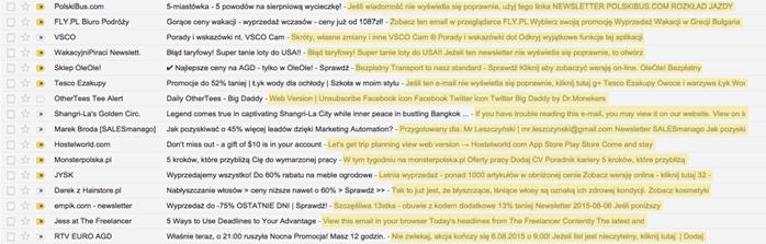 Zdj.1 Preheadery w Gmailu