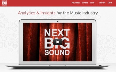 Picture #3 - Next Big Sound: Analytics & Insights for the Music Industry