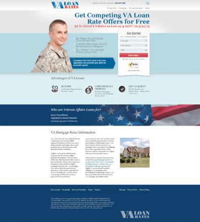 Przykład #4 VA Loan Rates