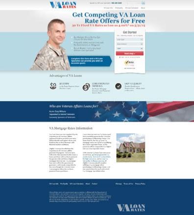Example #4: VA Loan Rates
