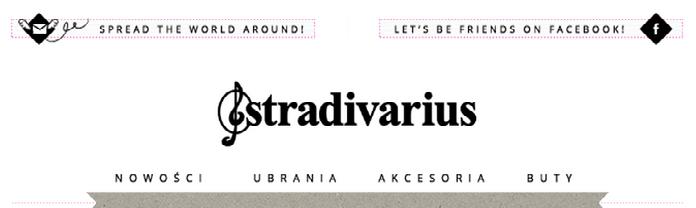 Zdj.14 Nagłówek marki Stradivarius