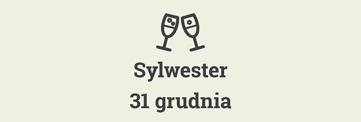 Sylwester 31 grudnia
