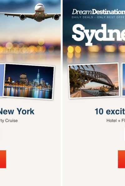 Img.20 Newsletter example using Dynamic Content to present geographically relevant content