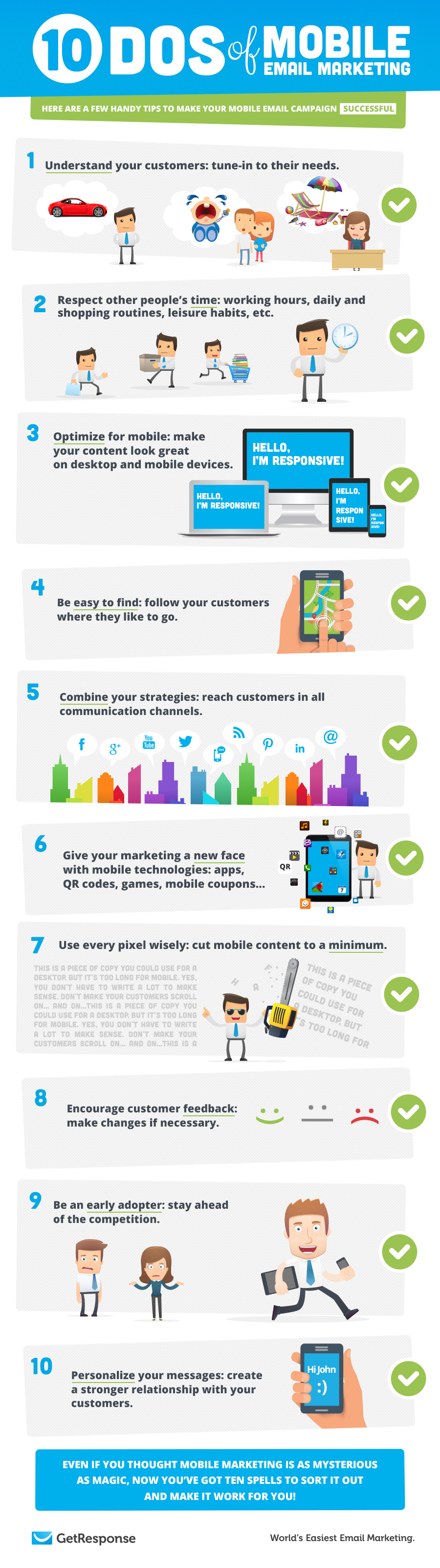 10 Dos of Mobile Email Marketing