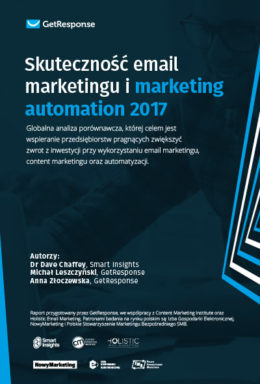 Skuteczność email marketingu  i marketing automation w 2017 roku