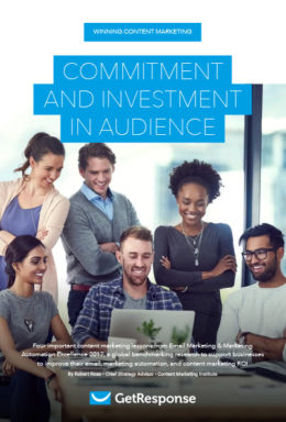 Winning Content Marketing: Commitment AND Investment in Audience