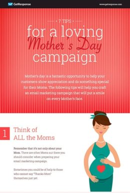 Tips for a Loving Mother's Day Campaign