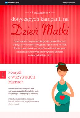 7 pomysłów na kampanię z okazji Dnia Matki.