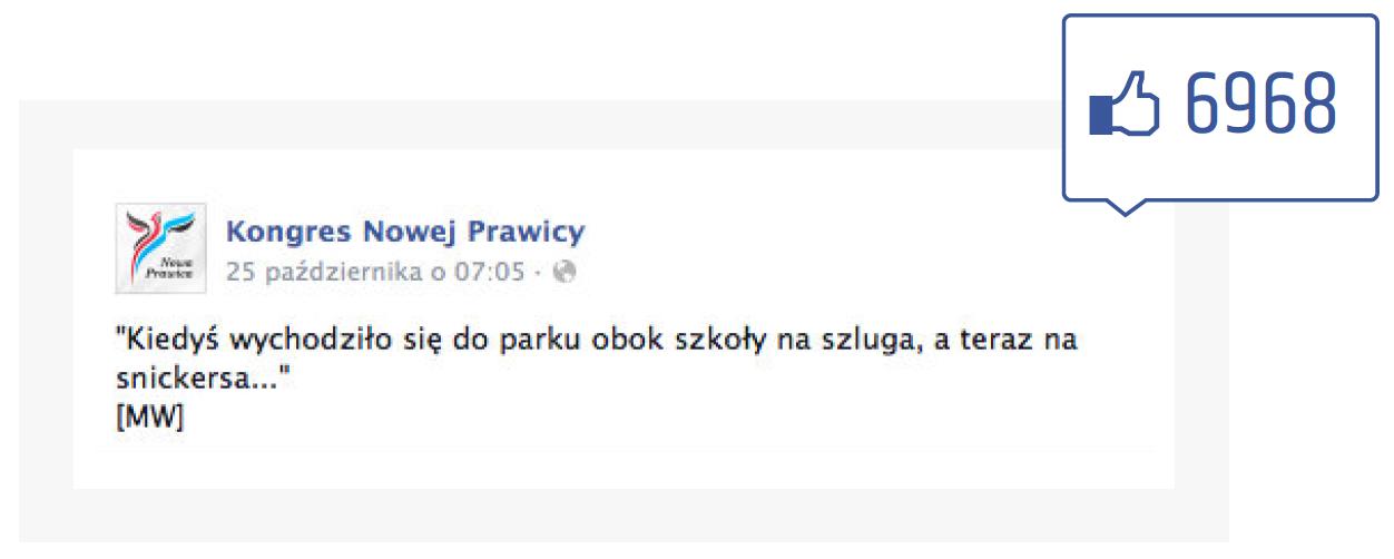 Facebook - polubienia