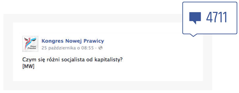 Facebook - komentarze