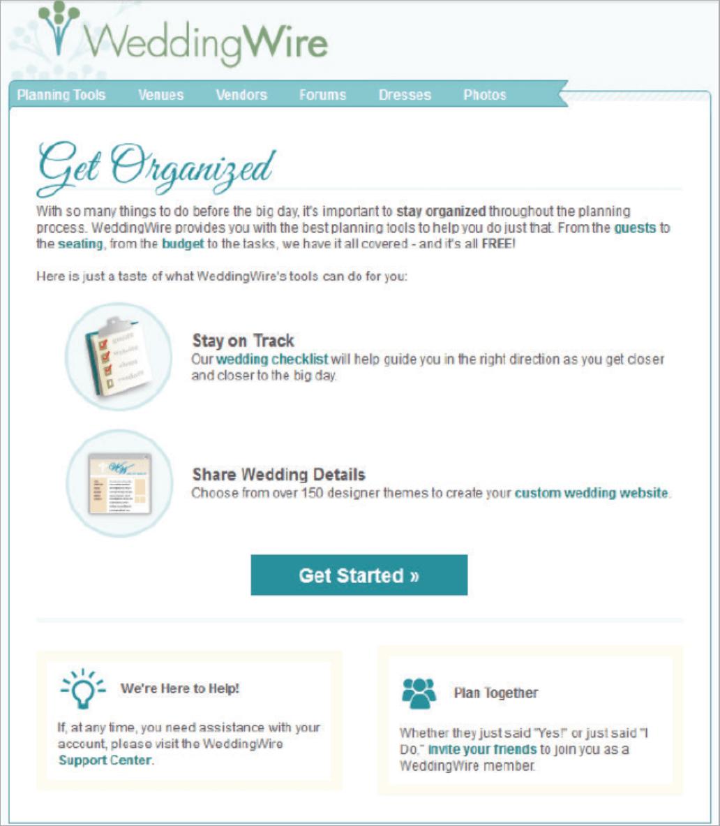 """Rys. 23 Email numer 2 wysłany po dwóch dniach. Otrzymasz go, jeśli w pierwszej wiadomości klikniesz """"Zacznij organizację""""."""