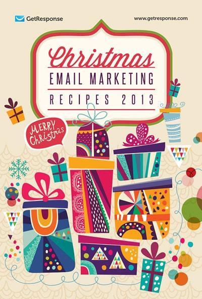 Christmas Email Marketing Recipes 2013