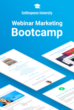 Webinar marketing z GetResponse