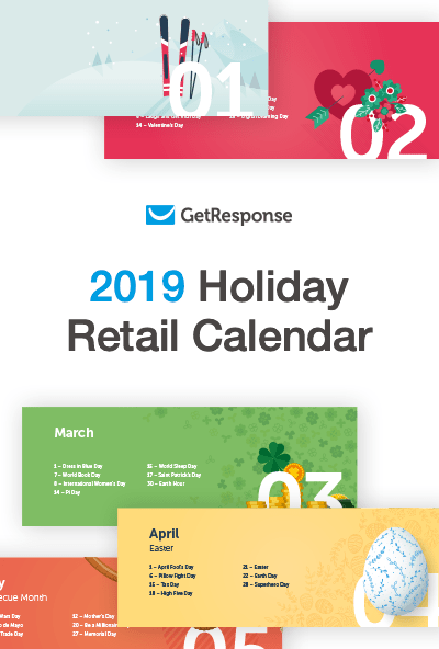 2019 Holiday Retail Calendar