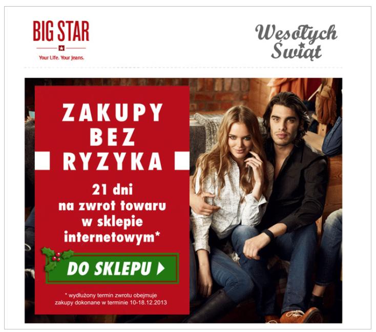 Grafika 3 - Newsletter Big Star