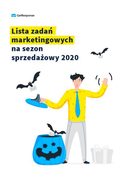 Lista zadań marketingowych na sezon sprzedażowy 2020