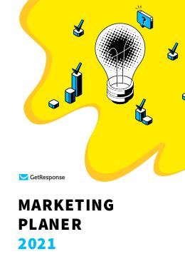 Marketing Planer 2021 – Dein Marketing-Kalender