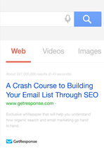 A Crash Course to Building Your Email List Through SEO