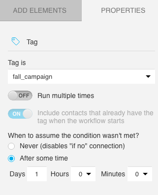 Include contacts grayed out
