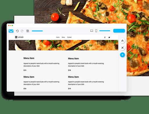 build an online menu