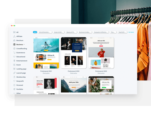 develop your brand with a website