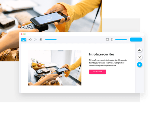 use integrated forms with website builder
